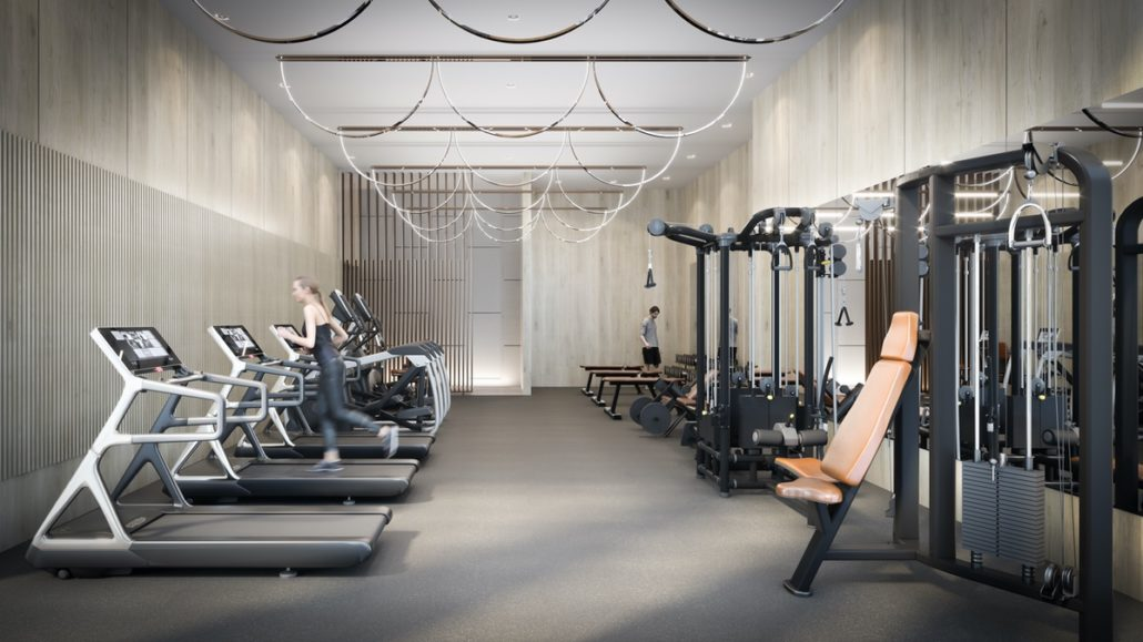 Universal City 2 Condos Gym