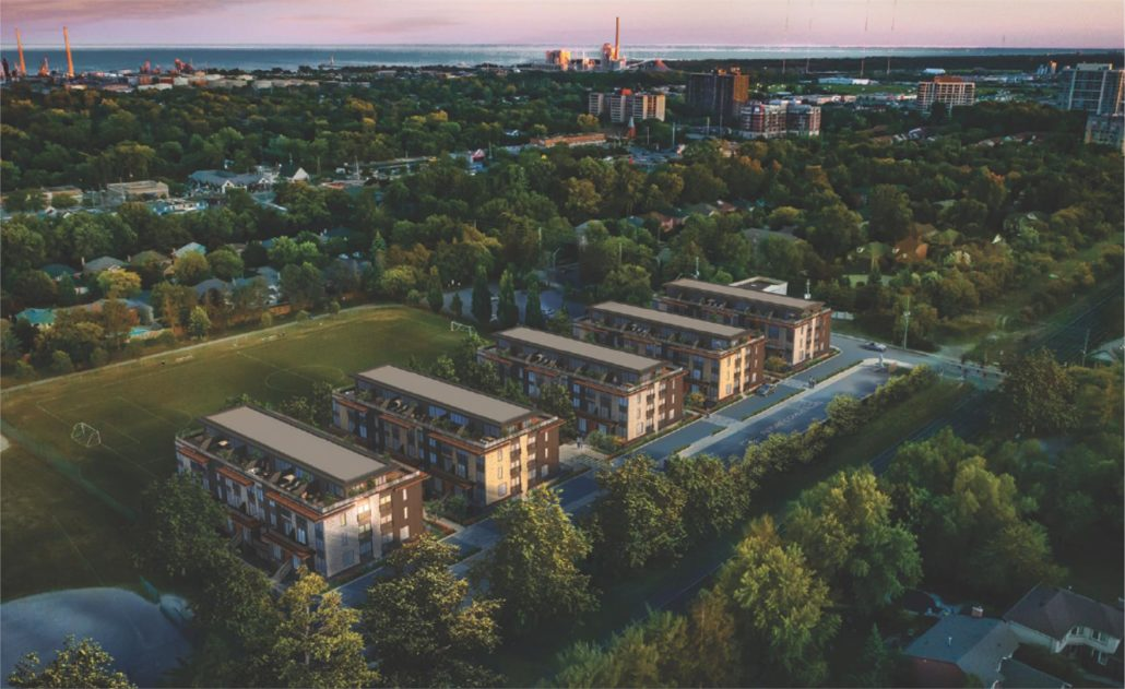 Eleven•11 Clarkson Towns Community Rendering