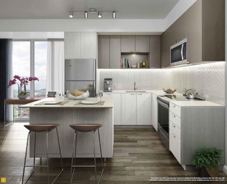 Keystone Condos Kitchen