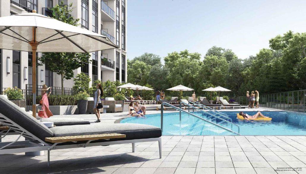 Keystone Condos Pool and Lounge