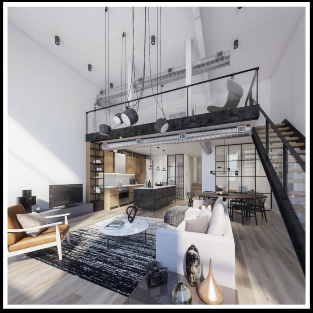 Wonder Condos Hard Lofts Interior