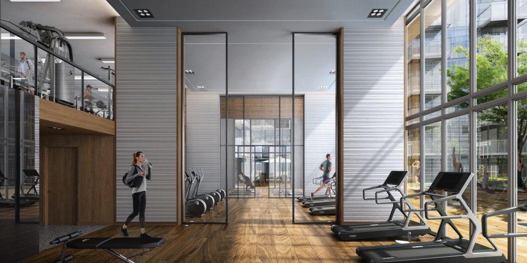 M2M Condos Fitness Centre