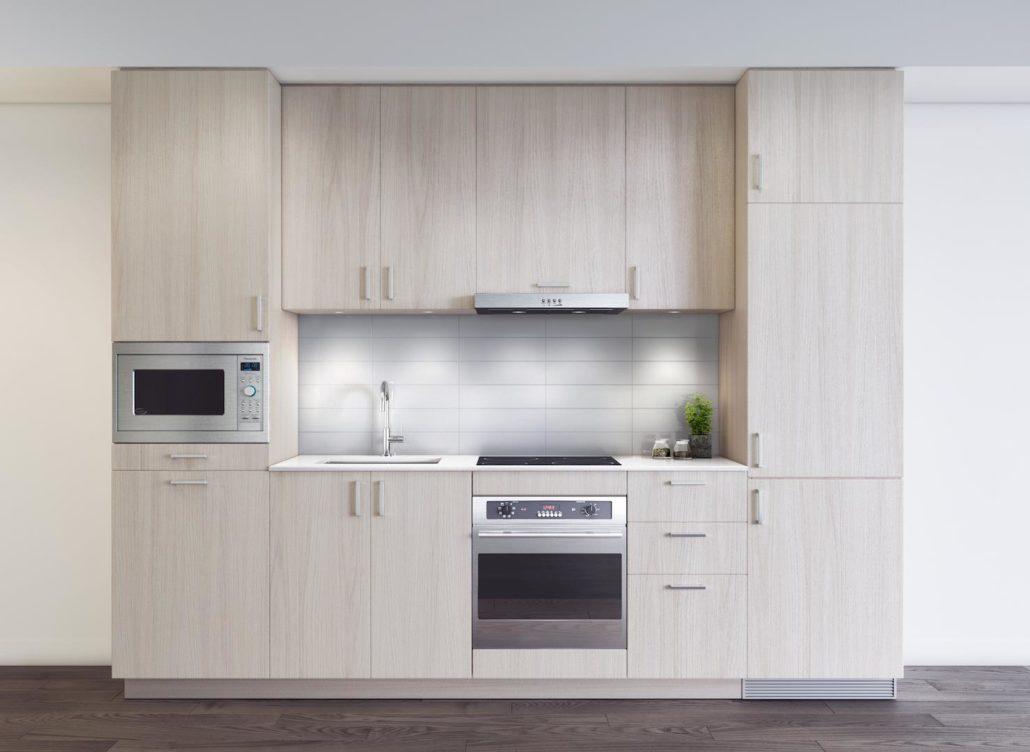 M2M Condos Kitchen