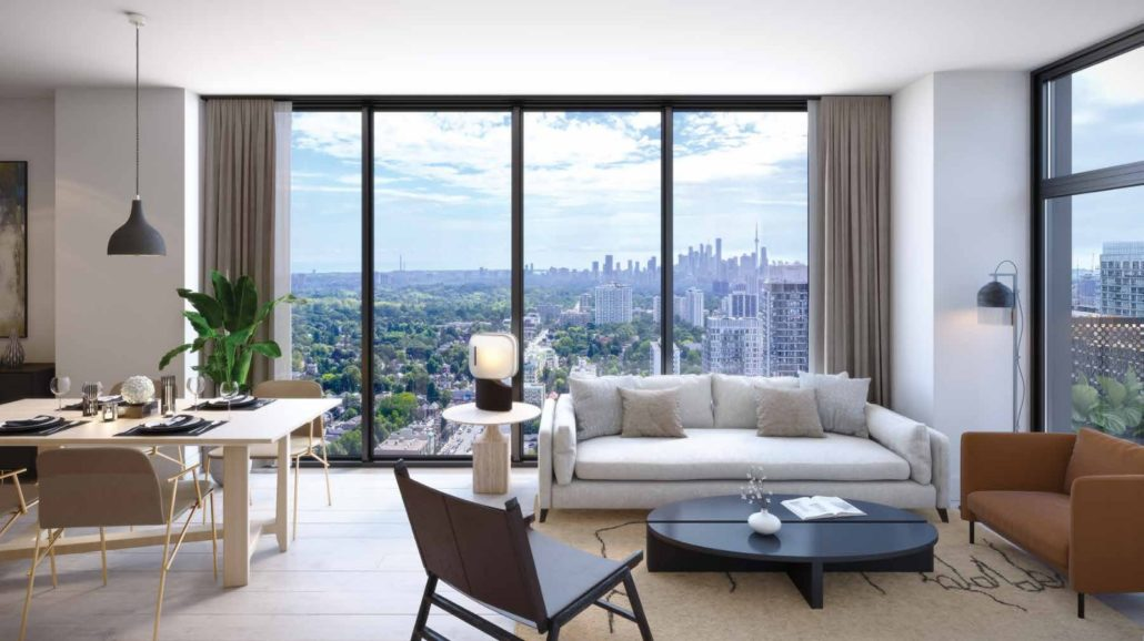 Line 5 South Tower Condos Interior