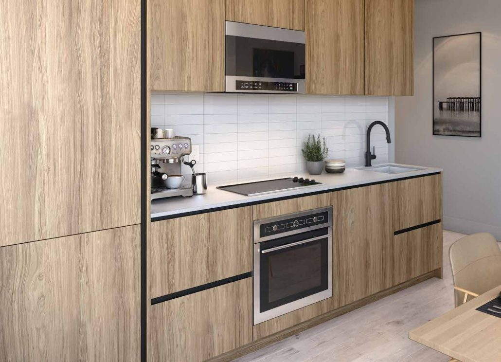 Line 5 South Tower Condos Kitchen