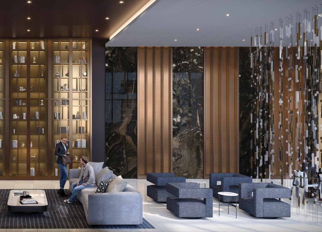 Line 5 South Tower Condos Rendering