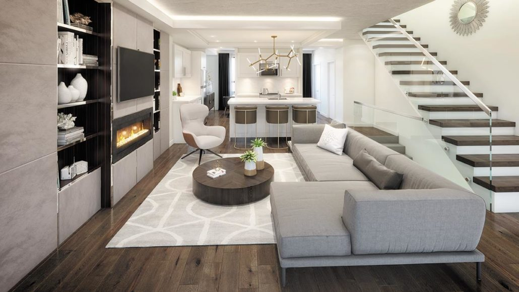 SF3 Condos Interior Rendering