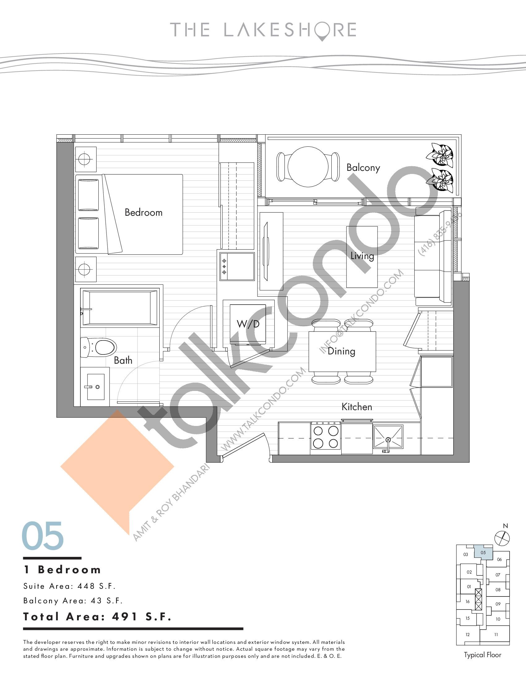 The Lakeshore Condos Floor Plans Prices Availability Talkcondo