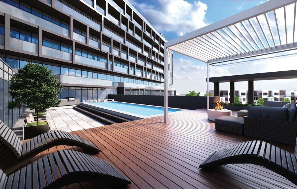 Valera Condos 2 Rooftop Lounge and Pool