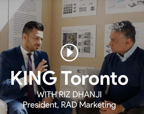 roy bhandari interviewing riz dhanji for king toronto condos