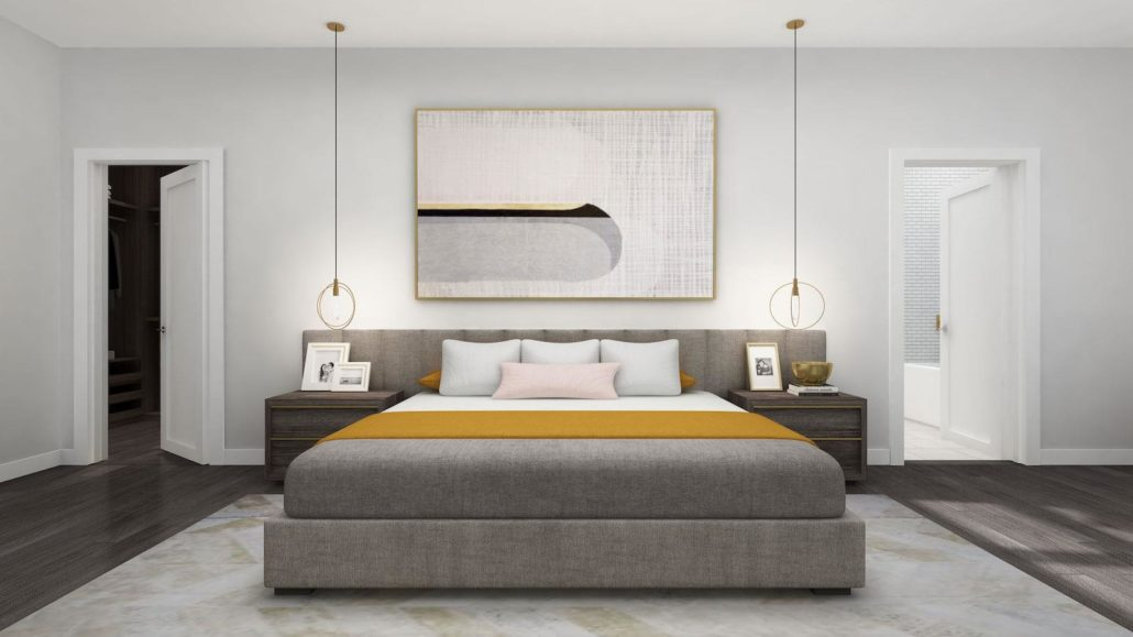 NuTowns Bedroom