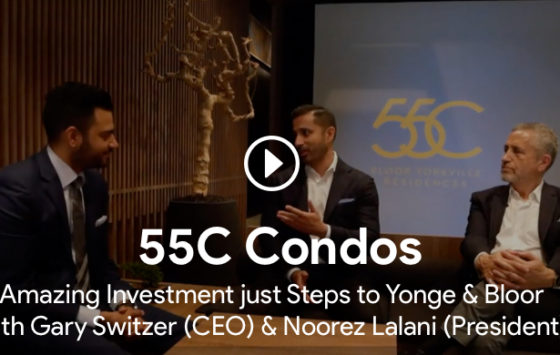 roy bhandari interviewing gary switzer and noorez lalani for 55c condos