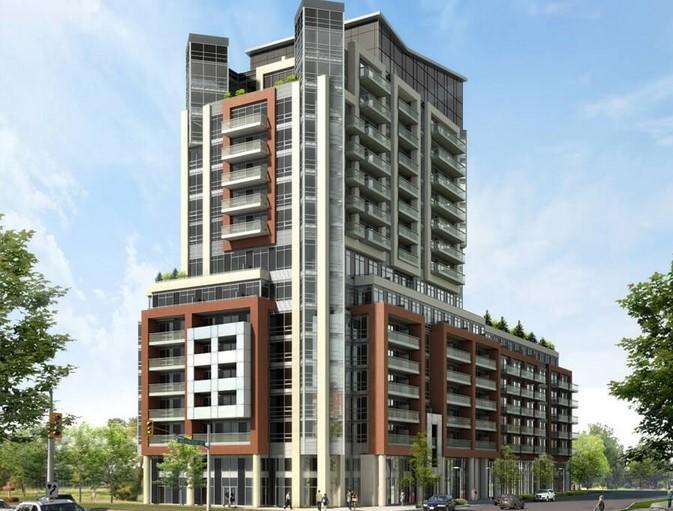 8888 Yonge Street Rendering