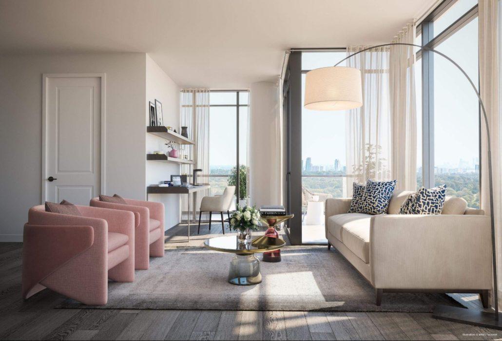 Notting Hill Condos Living Room