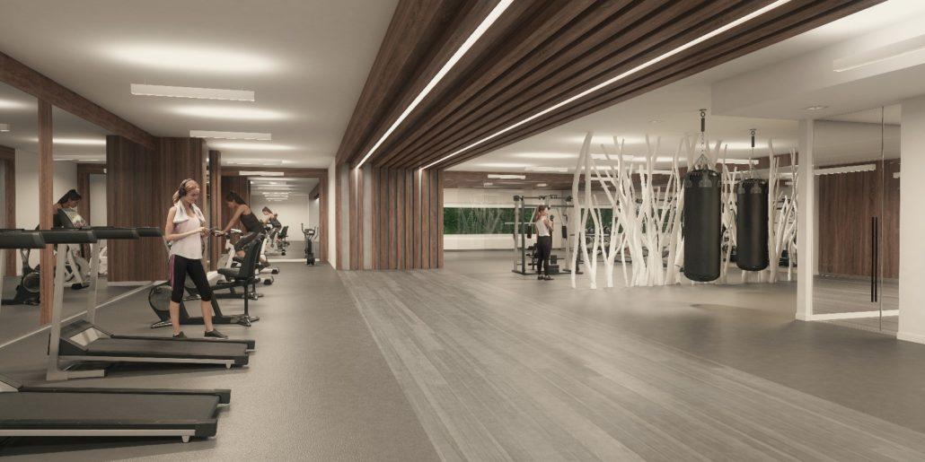 River & Fifth Condos Gym