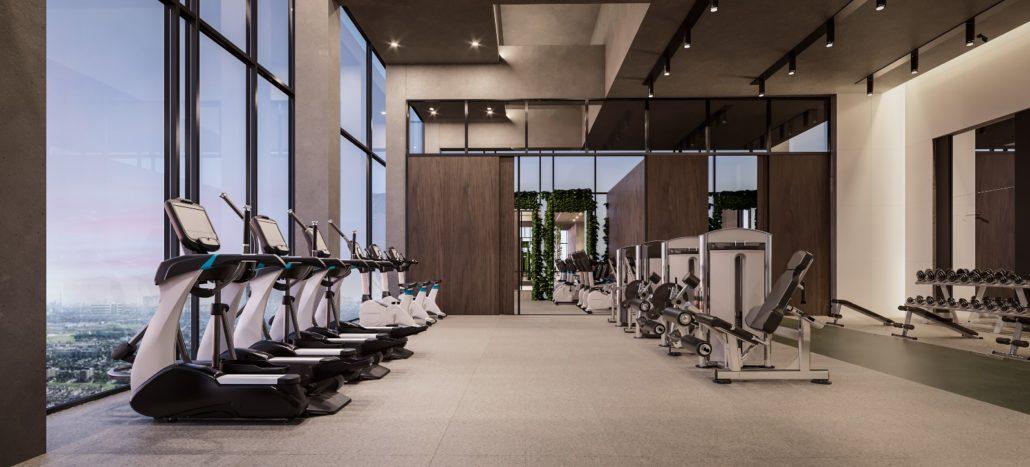SXSW Condos & Towns Gym