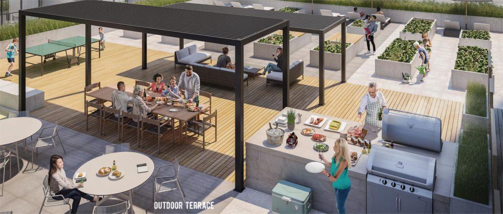 DuEast Boutique Outdoor Terrace