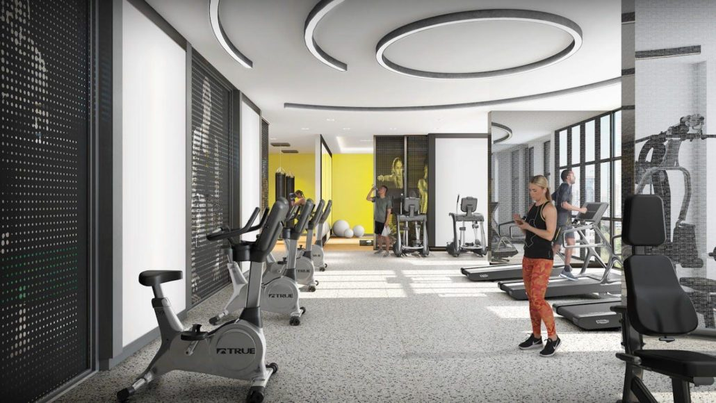 in.DE Condos Gym