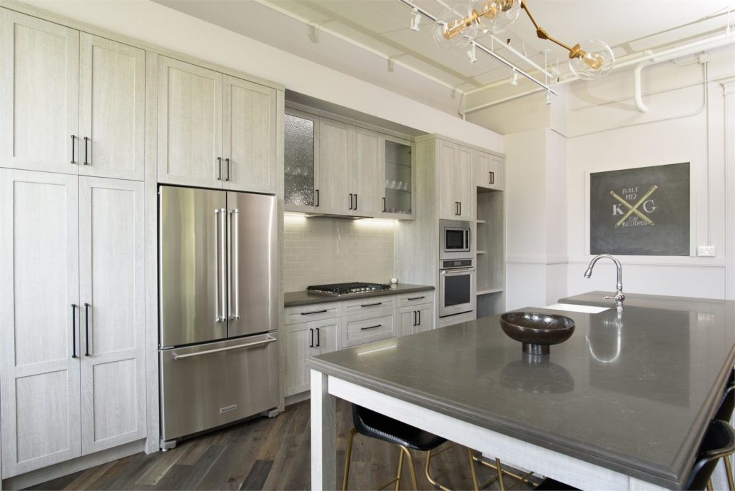 King George School Lofts & Town Homes Kitchen