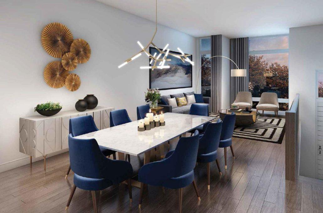 Riverside Residences Dining Room