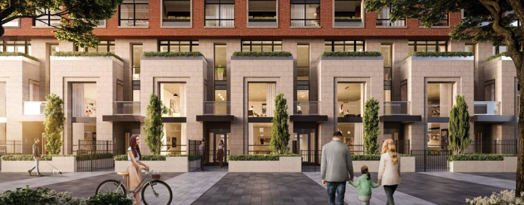 Upper East Village Condos Exterior Rendering