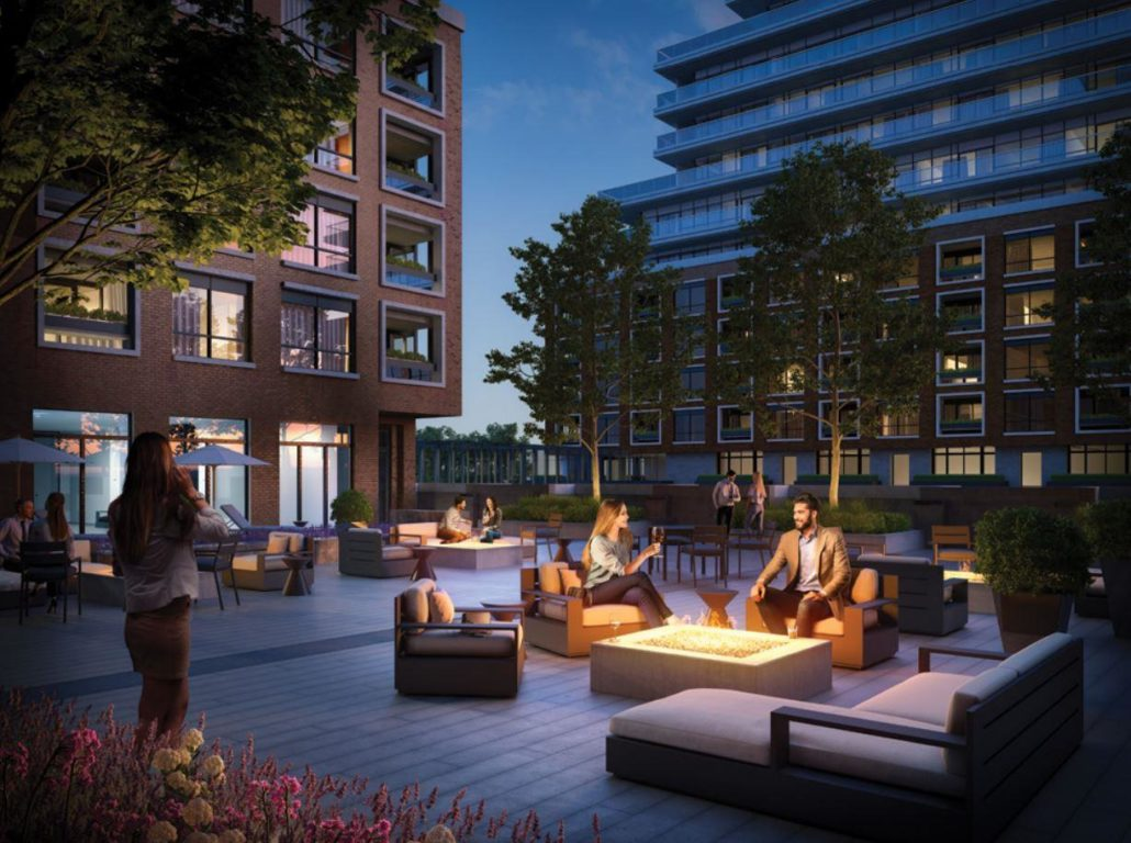 Upper East Village Condos Outdoor Terrace