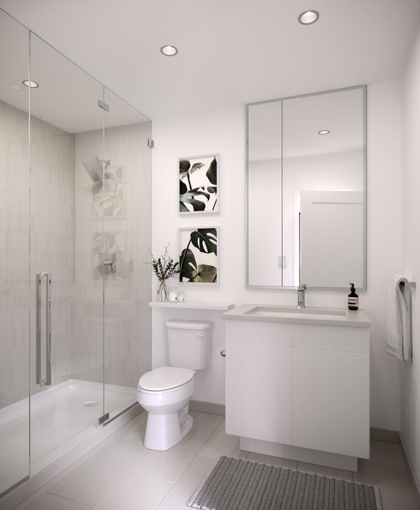 Exchange District Condos - Phase 2 Bathroom