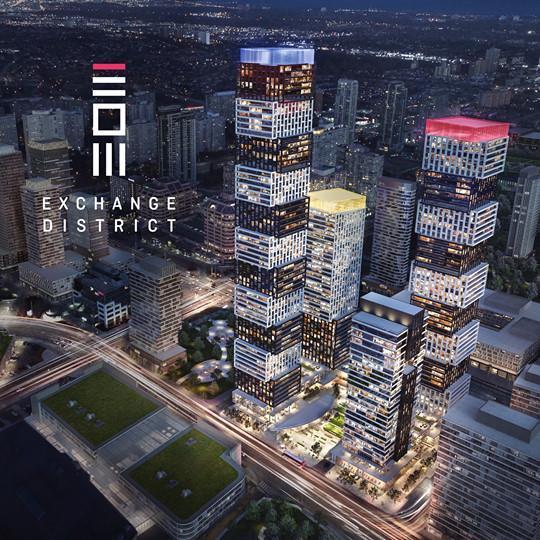 Exchange District Condos - Phase 2 Rendering