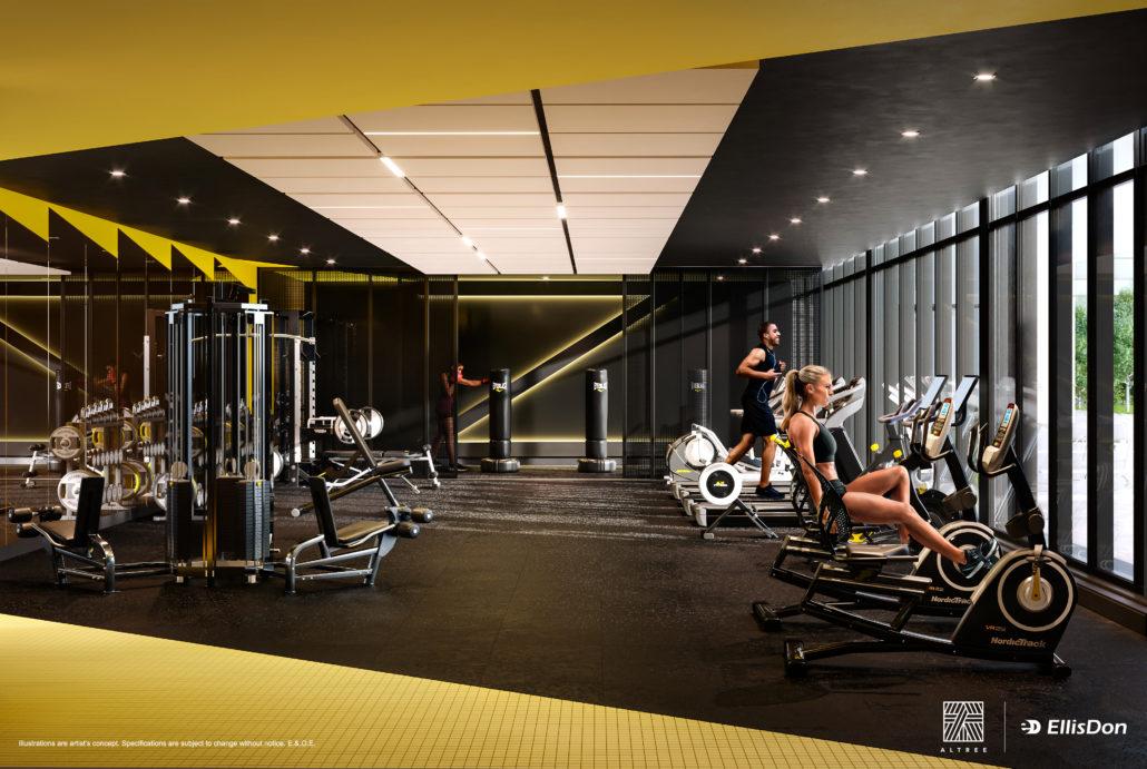 Thirty Six Zorra Condos Gym