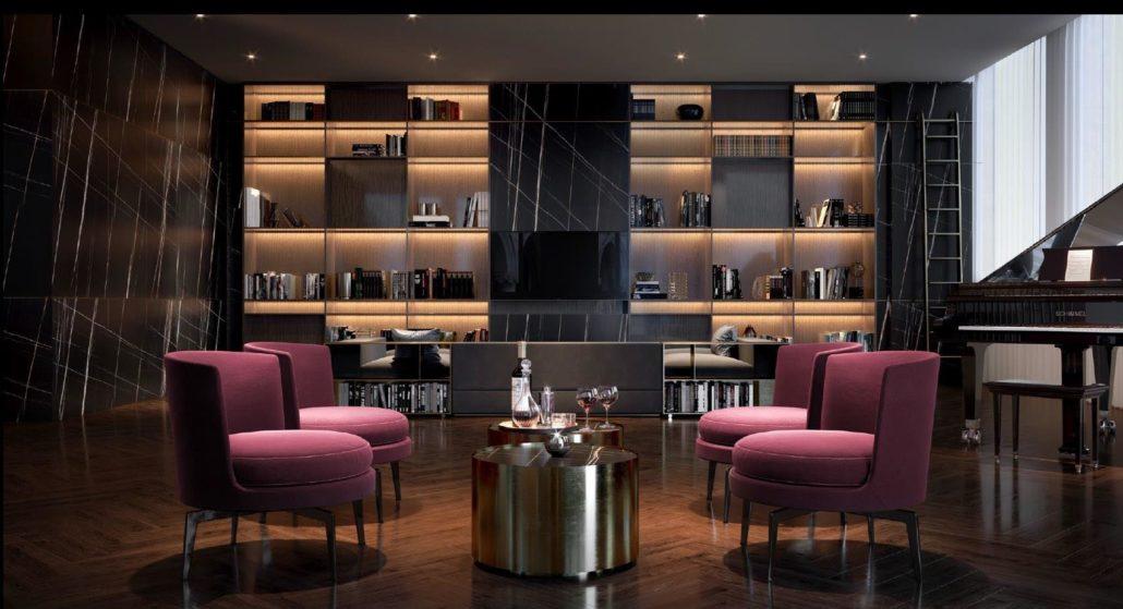 11YV Condos Lounge