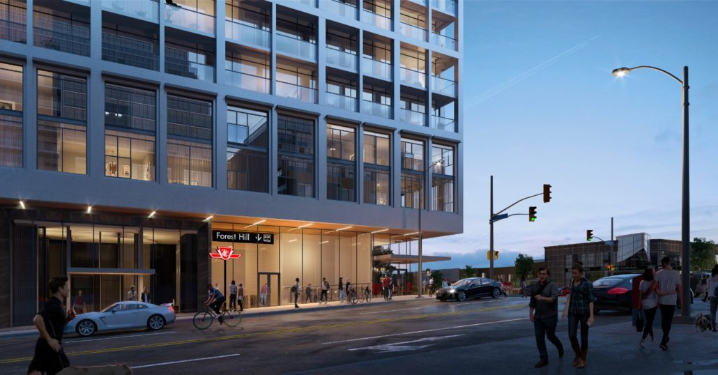 The Forest Hill Condos Rendering