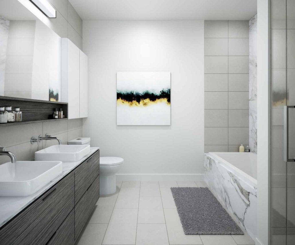 8888 Yonge Street Condos Bathroom