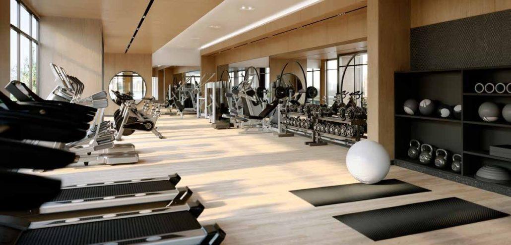 8888 Yonge Street Condos Gym