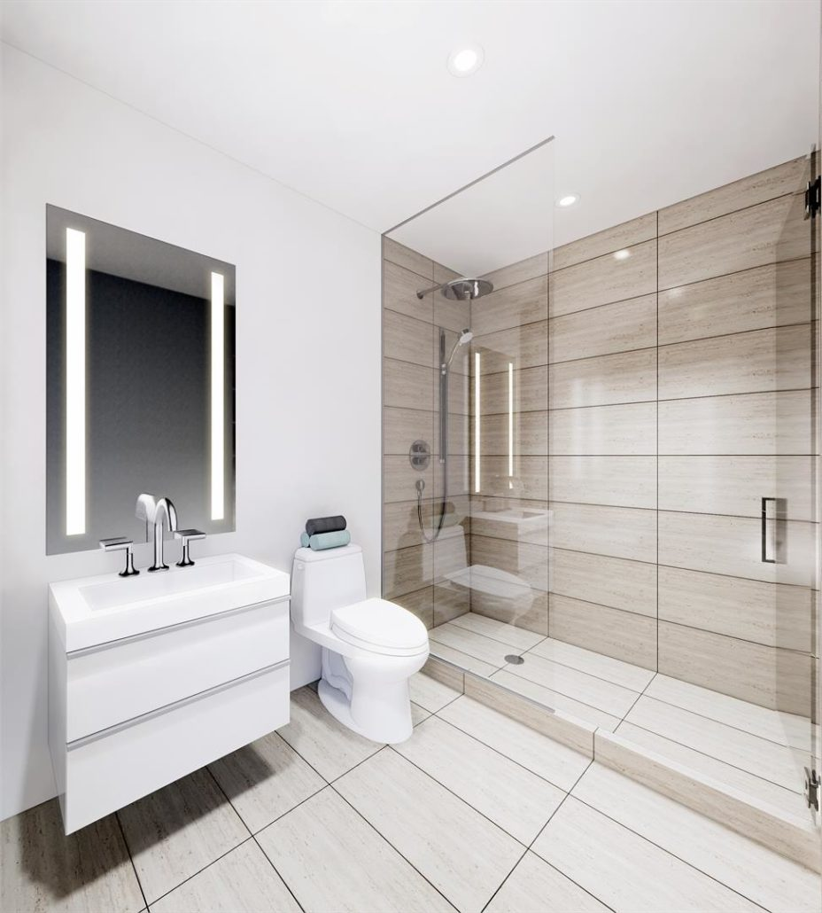 Grand Bell Condos Bathroom