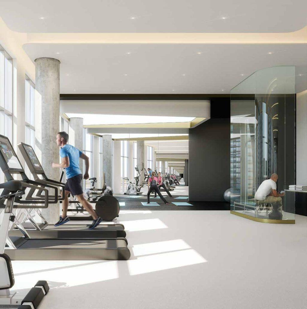 Promenade Park Towers Condos Gym