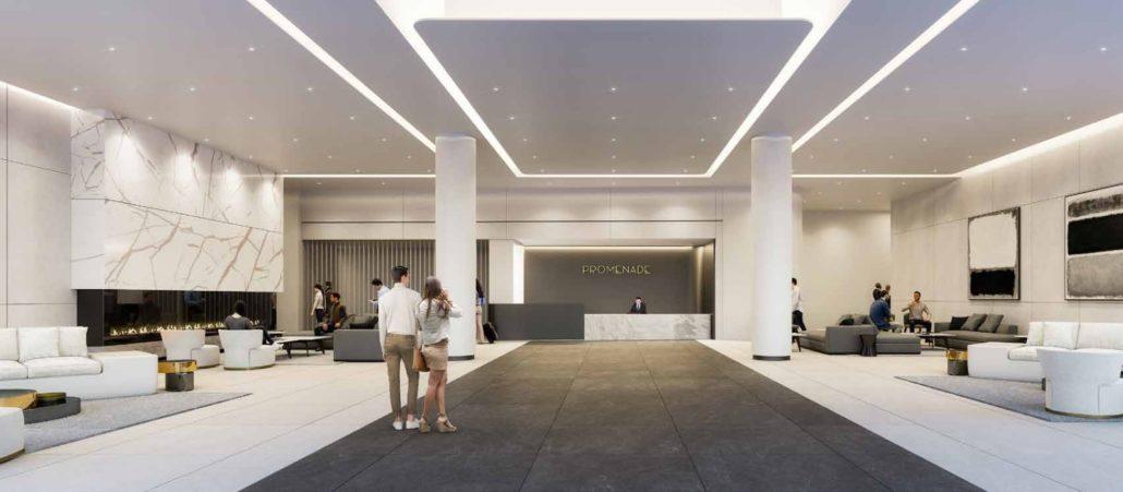 Promenade Park Towers Condos Lobby