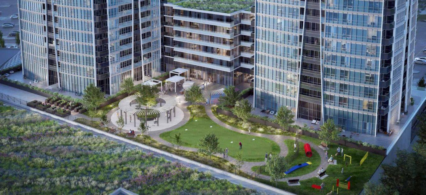 Promenade Park Towers Condos Rendering