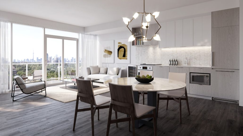 The Forest Hill Condos Interior