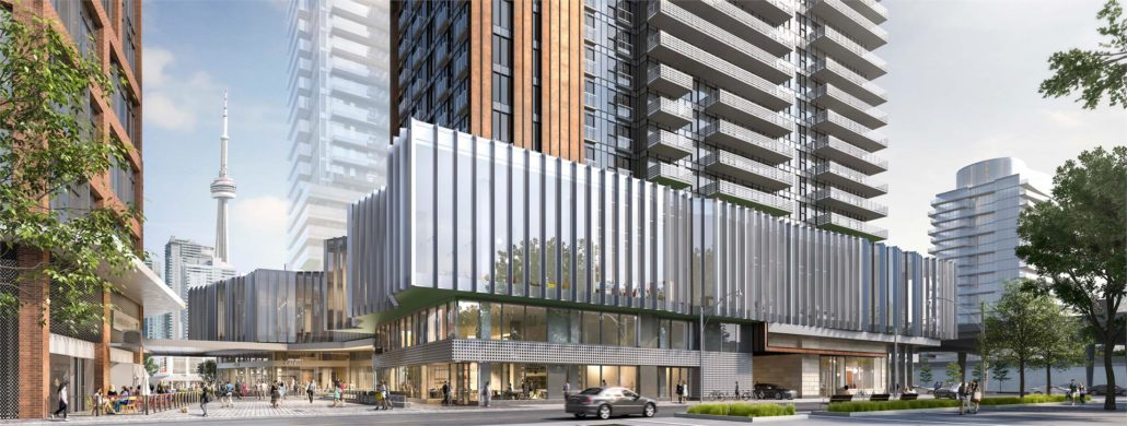 Lighthouse Condos East Tower Exterior Rendering