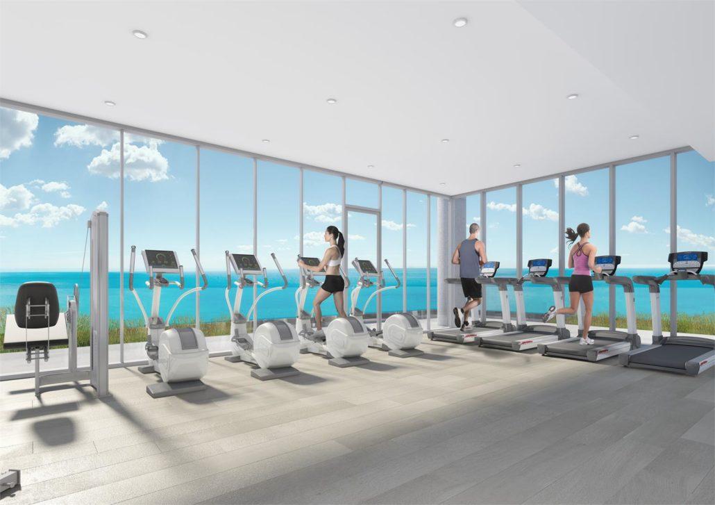 Nautique Lakefront Residences Condos Gym