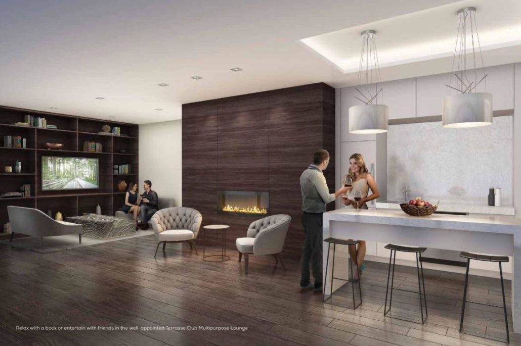 Terrasse Condos at The Hunt Club Lounge