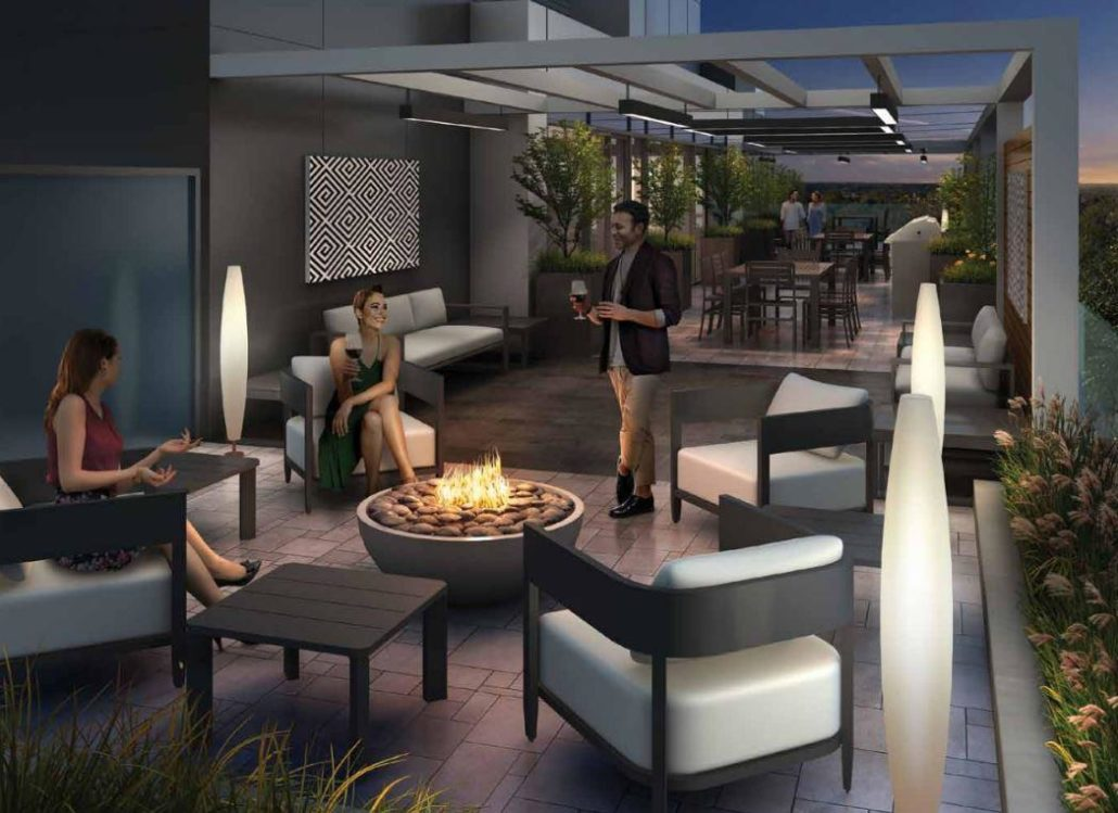 Terrasse Condos at The Hunt Club Outdoor Terrace