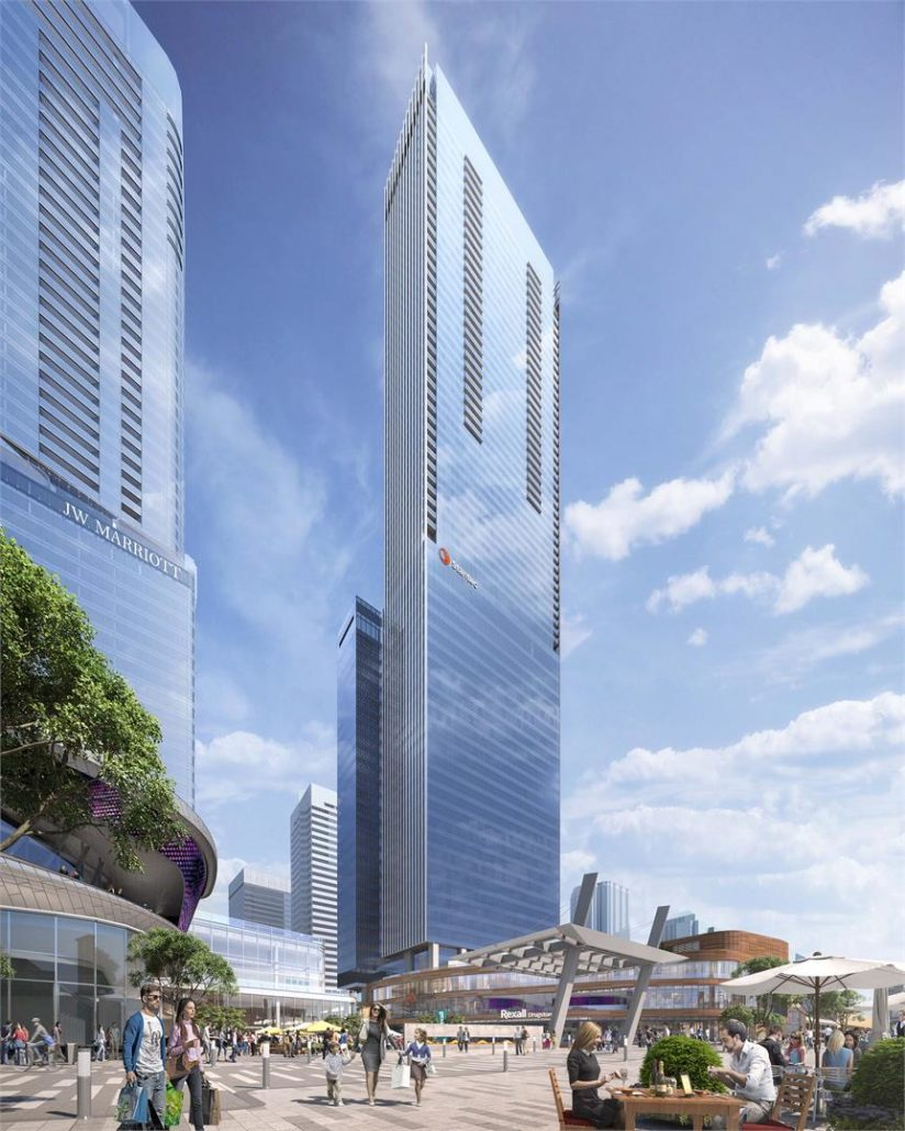 SKY Residences at ICE District Rendering