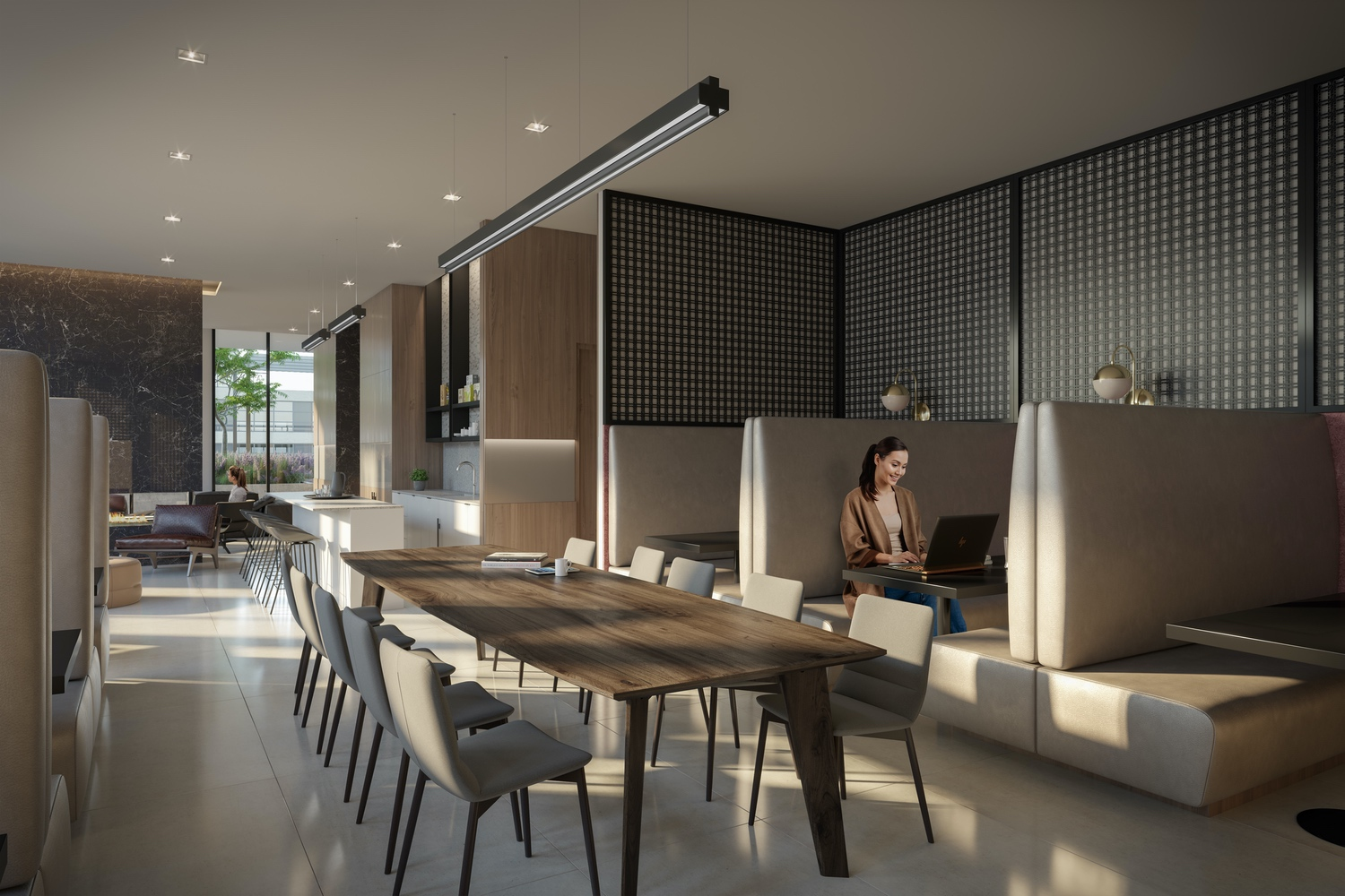 55 mercer condos co working space