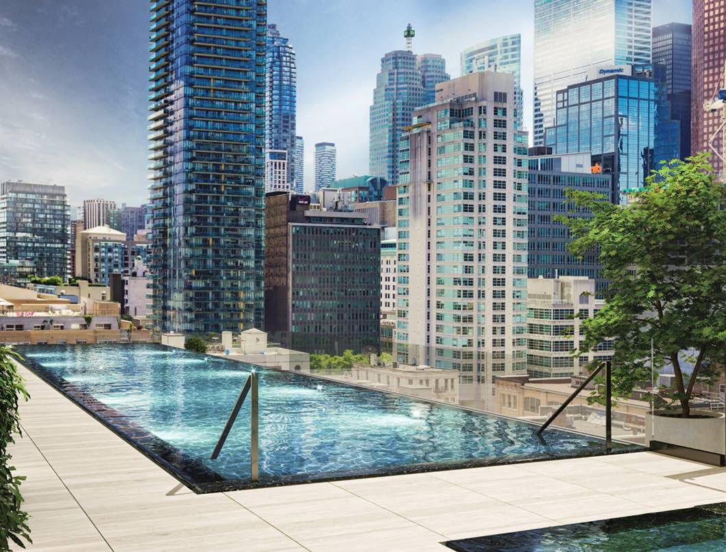 88 Queen Condos - Phase 2 Infinity Pool with Breath Taking Views of Downtown Toronto