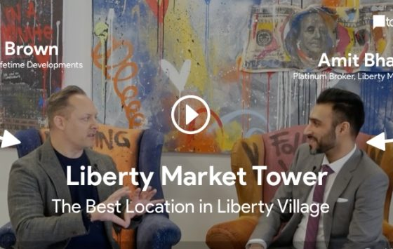 amit bhandari interviewing brian brown for liberty market towers