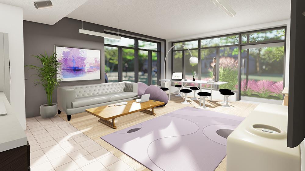 LivSmart Condos Lounge