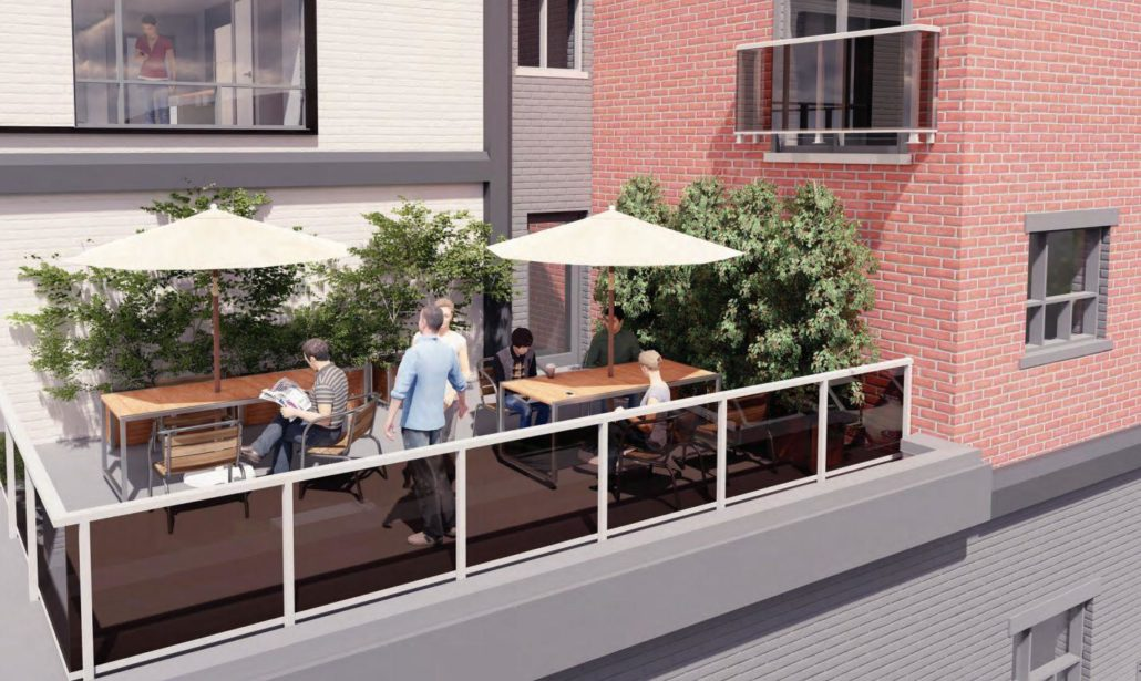 LivSmart Condos Outdoor Terrace
