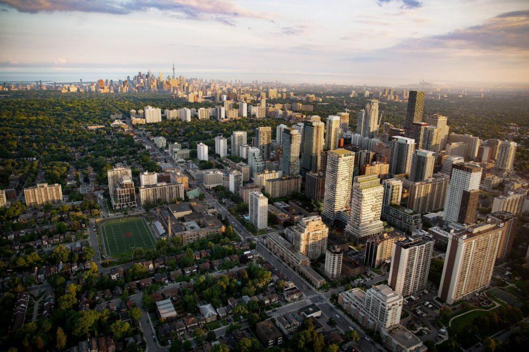 Untitled Toronto Condos Aerial