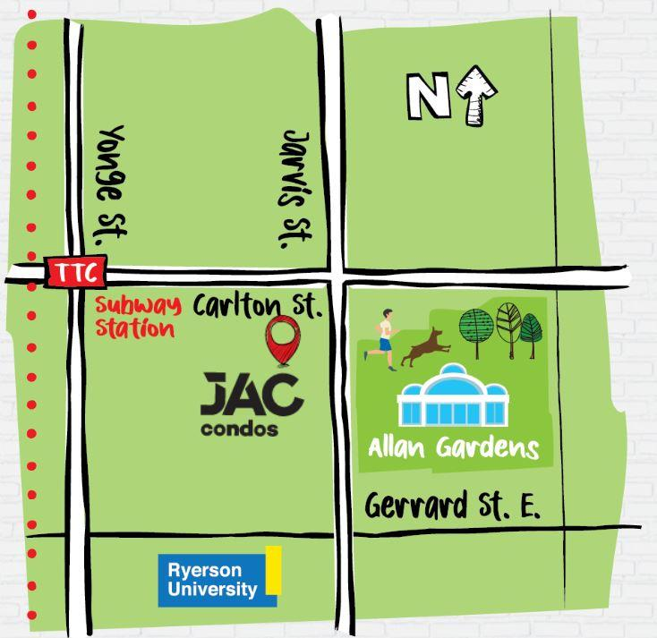 JAC Condos Site Location
